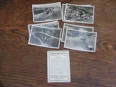 SENIOR SERVICE LARGE CIGARETTE CARDS BRITAIN FROM THE AIR PART SET 7 of 48