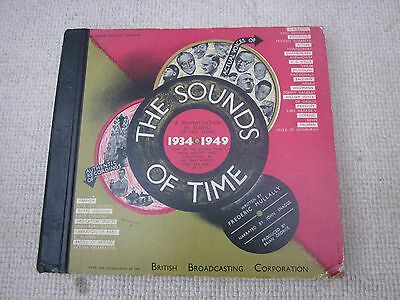 Vintage 78's the sounds of time 1934 to 1949+ Winnie's 1940 11/9 speech