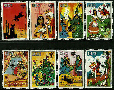 Belize 513-20 Mint Never Hinged Set - Year of the Child