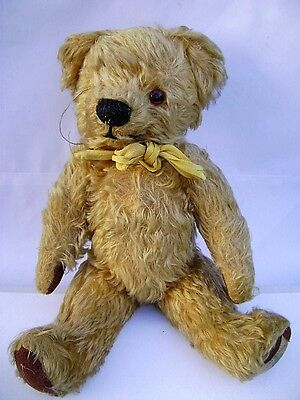 Old Vintage The Chad Valley Jointed Teddy Bear