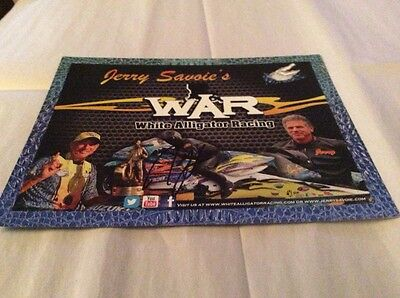 2016 Jerry Savoie s Hero Card Signed