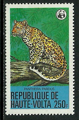 Burkina Faso 511 Mint Never Hinged Stamp - WWF - Leopard