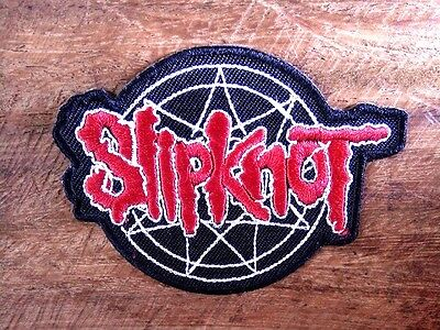 SLIPKNOT Sew Iron On Patch Embroidered Logo Rock Band Heavy Metal Music Punk