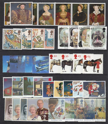 SG1965-75/80-92/97-2010 1997 COMMEMORATIVES YEAR SET ~ 9 Sets Unmounted Mint. GB