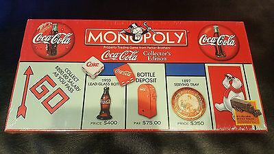 Coca Cola Monopoly Collectors Edition Factory Sealed 2000 Save 5% Worldwide Fast