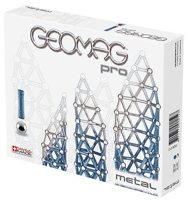 Geomag Pro Metal Building Kit Piece New 100 Japan 214 44 World Color Pieces 131
