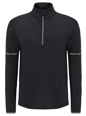 Callaway mens 1/4 Zipp Mid Layer Shirt, caviar black, UVP 85€