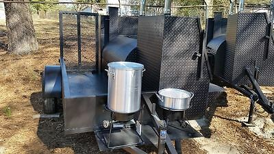 Start a BBQ Restaurant Catering Business Smoker Grill Trailer Food Cart Truck
