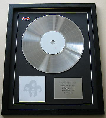 KINGS OF LEON Youth & Young Manhood CD / PLATINUM LP DISC Presentation