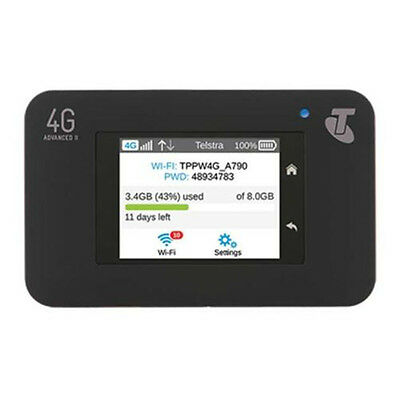 300Mbps Unlocked Netgear AirCard 790S AC790S 4G  LTE Mobile Hotspot WiFi Router