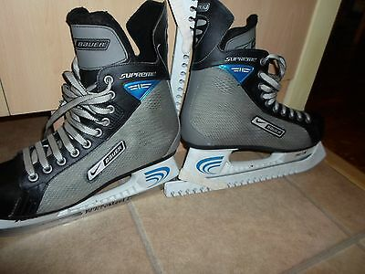 Bauer Supreme Ice Hockey Boots Size 9