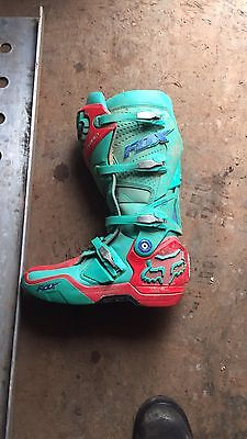 Used Fox Racing Boots Size 10