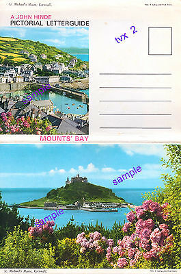 Cornwall St Michaels Mount  6  Picture Lettercard Not Psd=Outstanding Condition