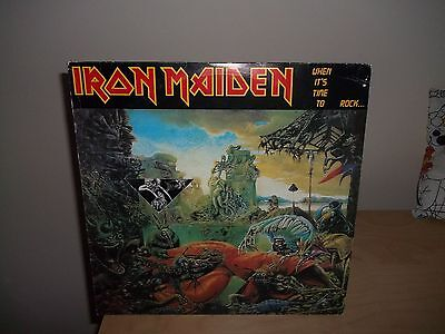 Iron Maiden ‎– When It's Time To Rock, 2 × Vinyl, LP