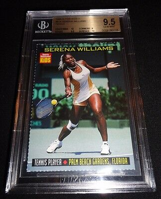 1999 SI For Kids Serena Williams Rookie Card RC BGS 9.5 Gem Mint W/ 2X 10 Subs!