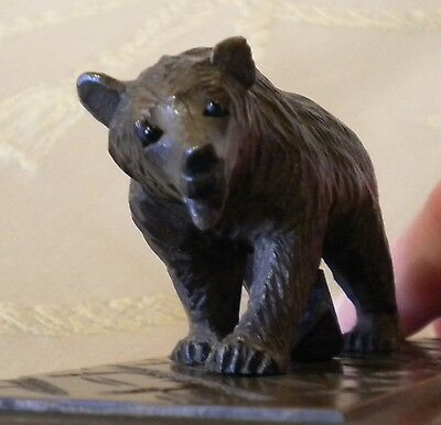 Antique Black Forest Bear ink blotter made circa 1900 in good condition.