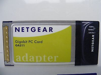 Netgear Gigabit PC Card GA511