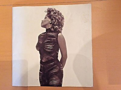 Tina Turner Twenty Four Seven World Tour Concert Program Original 2000