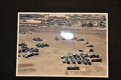 EARLY OPERATION IRAQI FREEDOM 1st ARMORED DIVISION PHOTO - MOTORPOOL
