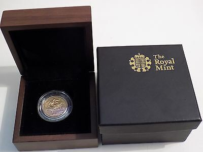 1877 Gold Full Sovereign Coin Young Head Queen Victoria + Royal Mint Box