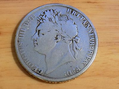 1821 George IV Silver Crown Coin