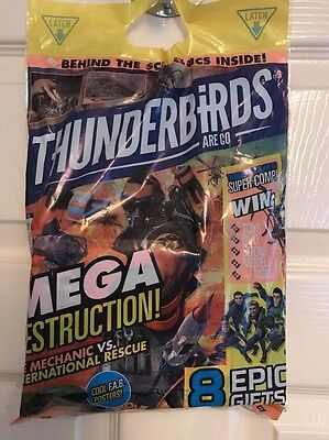 *BRAND NEW * SEALED * Thunderbirds Are Go Magazine Final Issue - 8 Epic Gifts