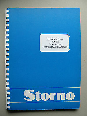 Storno CQM6000 - Stornophone 6000 Service Manual - Publication No: 8321.6664-00