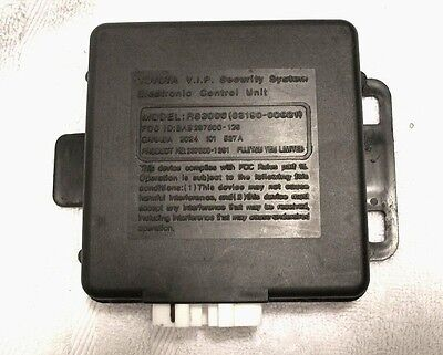 Toyota Oem Rs3000 Security System Electronic Control Unit Rs 3000 Ecu