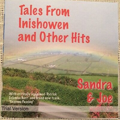 "Sandra & Joe - ""Tales from Inishowen"" - All Original Music Demo CD - BRAND NEW"