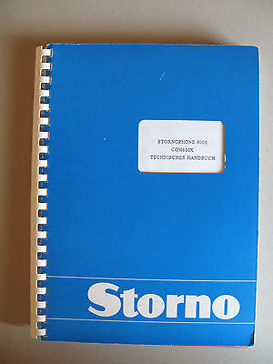 Storno CQM6330 - Stornophone 6000 Service Manual - Publication No: 8321.6330-00