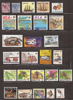 Singapore -  Lot Of Stamps