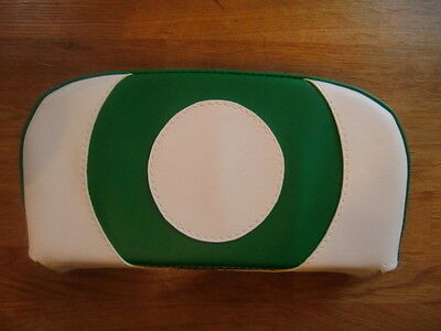 Green/White Target Scooter Back Rest Cover (Purse Style)