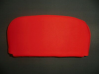 Bright Orange Back Rest Cover (Purse Style) Vespa/Lambretta