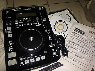 DJ-TECH ISCRATCH CDJ  MP3 USB PLUG & PLAY PC LAPTOP -  - Singolo Piatto