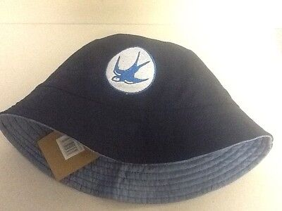 Cardiff City Bucket Hats - Top Quality - Made by Kangaroo Poo