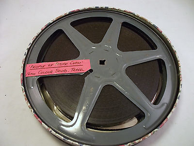 16Mm Sound Film 'people Of The Pacific Coast' 1965