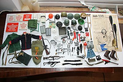 Vintage Action Man, Large Lot of Good Items