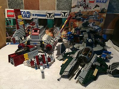 Lego Star Wars Job Lot Space Ships Vehicles With 8018 8019 Instruction Manuals