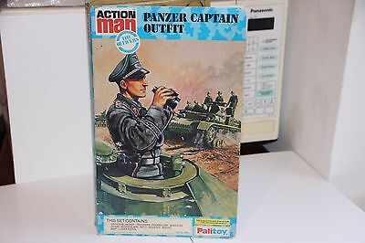 Vintage Action Man, Panza Captian Outfit on Card