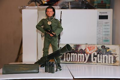 Vintage Action Man Tommy Gunn, Boxed