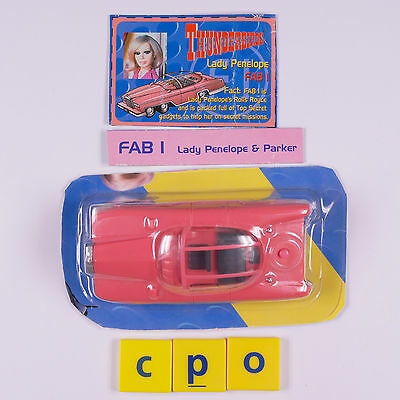 Thunderbirds FAB1 - Carlton Soundtech -  New on Cut Down Carded Blister Pack