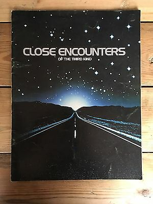 Close Encounters Of The Third Kind Official Film Programme