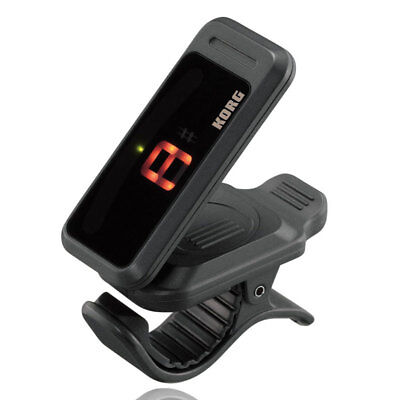 Korg PC1 PITCHCLIP Low-Profile Clip-on Chromatic Tuner For Guitar and Bass
