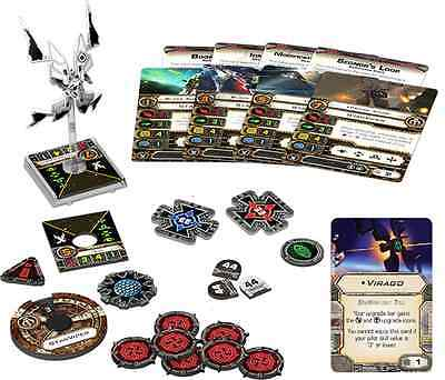 X-Wing Miniatures FFG StarViper Expansion Pack Brand New No Upgrades with Virago