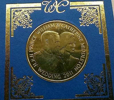 prince William & Catherine Middleton wedding collector's coin