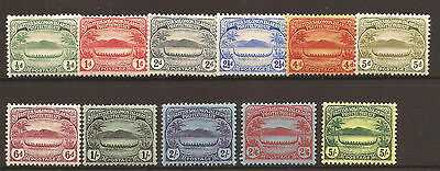 Solomon islands  SG 8-17 Fine LMM set of 11 Cat £200