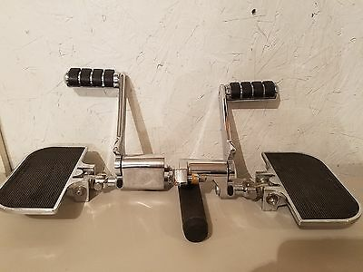 Harley Davidson Touring,dyna Fxd, Adjustable Rear Footpegs