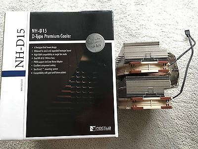 Noctua NH-D15 D-Type Premium CPU Cooler with Extra Fan
