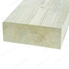 Structual Graded C24 Treated Carcassing Timber 75mm x 200mm x 4.8m