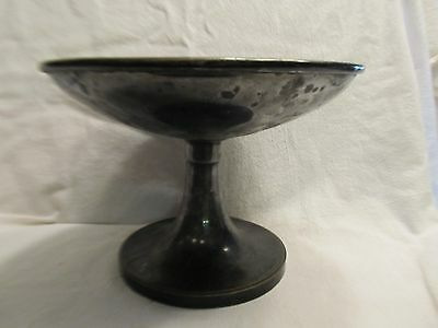 Silver Soldered Dish From Leland Hotel Chicago